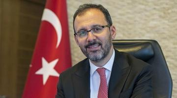 Gençlik ve Spor Bakanı Mehmet Muharrem Kasapoğlu,Bunu birlikte başaracağız.
