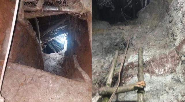 Balıkesir'in Manyas ilçesinde defineciler yakalandı