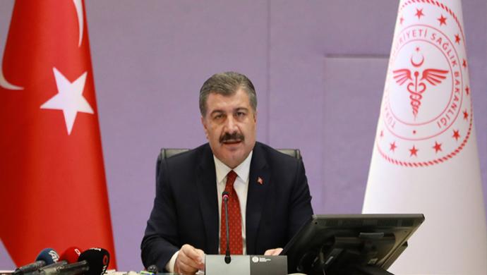 Sağlık Bakanı Fahrettin Koca,Bugün 25 kişi hayatını kaybetti.