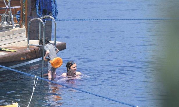 Nil Karaibrahimgil tatil sezonunu Bodrum'da açtı!