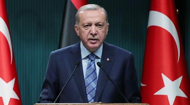"""Cumhurbaşkanı Erdoğan,""""Libyalı kardeşlerimizi asla darbecilerin ve insafına bırakmayacağız."""""""