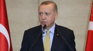 """Erdoğan, """"Ekonominin çarkları yeniden tam güç dönmeye başladı."""