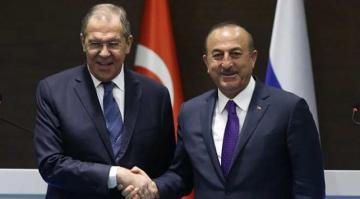 Dışişleri Bakanı Çavuşoğlu, Rusya Dışişleri Bakanı Lavrov ile görüştü