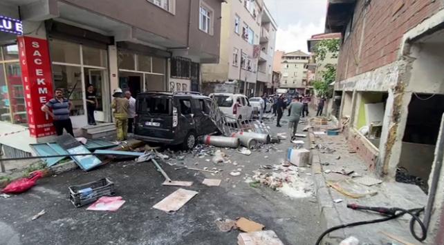 Beyoğlu Okmeydanı'nda bir iş yerinde patlama oldu