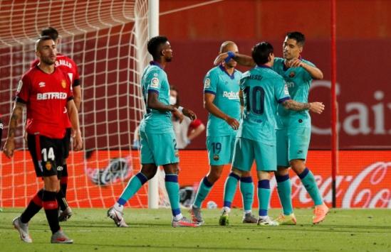 Barcelona deplasmanda Mallorca'yı 4-0 yendi
