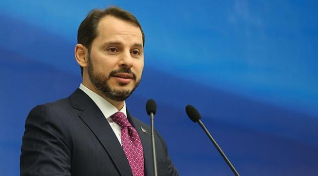 """Bakan Berat Albayrak, """"Hedefimiz Türkiye'yi,finansın merkezi haline getirmek"""""""