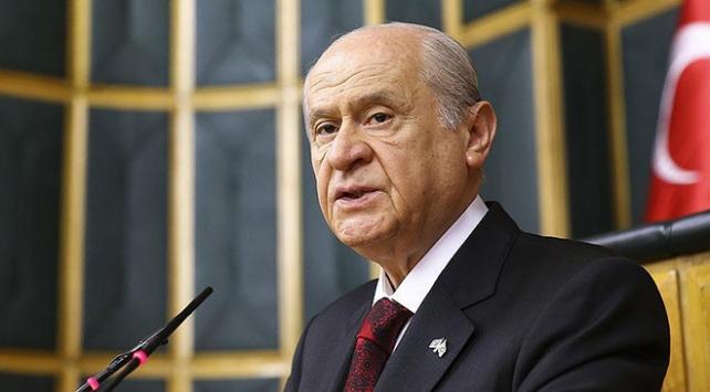 """MHP Genel Başkanı Devlet Bahçeli, """"MHP'nin görüşü çok nettir."""