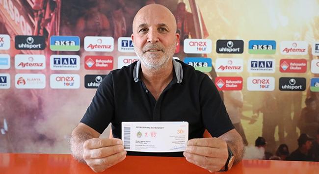 Alanyaspor Kulübü Başkanı Hasan Çavuşoğlu, Açıklama