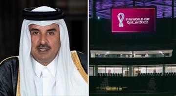 Katar Emiri Şeyh Al Sani, 2022 FIFA Dünya Kupası'na Ev sahipliği yapacak