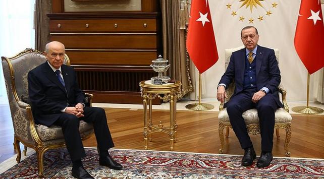 Cumhurbaşkanı Erdoğan, Bahçeli ile görüşecek.