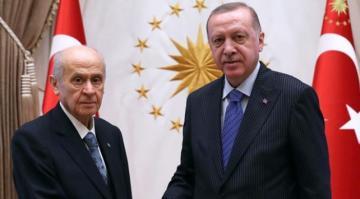 Cumhurbaşkanı Erdoğan, Devlet Bahçeli ile görüşüyor