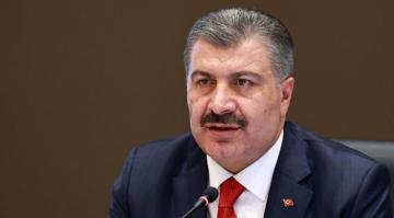 Sağlık Bakanı Fahrettin Koca, Türkiye Günlük Koronavirüs Tablosu'nu Paylaştı