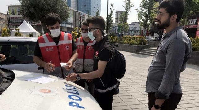 İstanbul Valiliği,Maske takmayanlara ceza uygulaması başladı