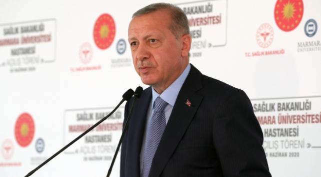 Erdoğan: Demokrasi ve kalkınma mücadelemizde yeni bir döneme giriyoruz