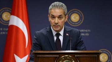 Dışişleri Bakanlığı Sözcüsü Hami Aksoy,ABD'li kuruluşa tepki Gösterdi