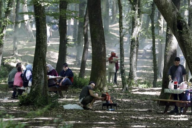İstanbul Belgrad Ormanı, vatandaşların ilgi odağı oldu