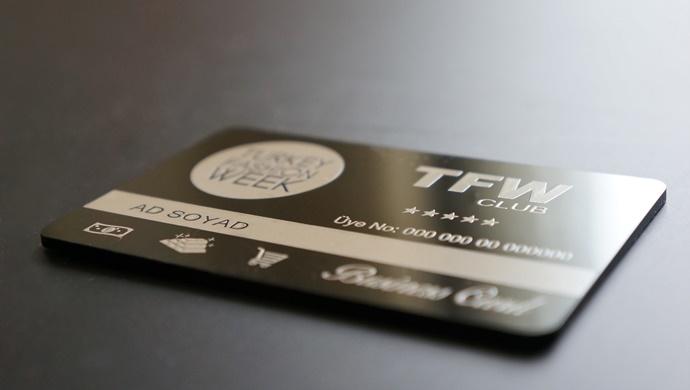 """""""TFW CLUB BUSINESS CARD"""" yakında Tüm TÜRKİYE' de"""