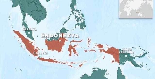 Endonezya'nın Kuzey Sulawesi eyaletinde 5,5 büyüklüğünde deprem