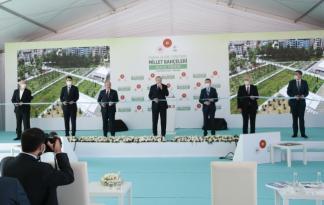Cumhurbaşkanı Erdoğan, 81 vilayetimizin tamamını millet bahçeleriyle donatmış olacağız