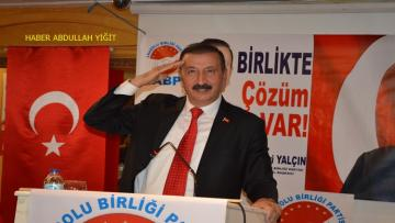 ABP Genel Başkanı Yalçın `dan Jandarma Teşkilatının kuruluş yıl dönümü mesajı