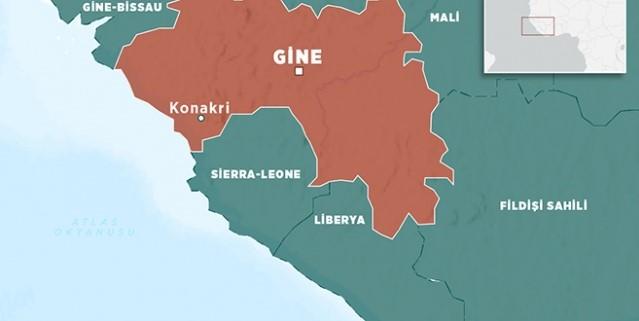 Gine'de maden çöktü 5 kişi hayatını kaybetti