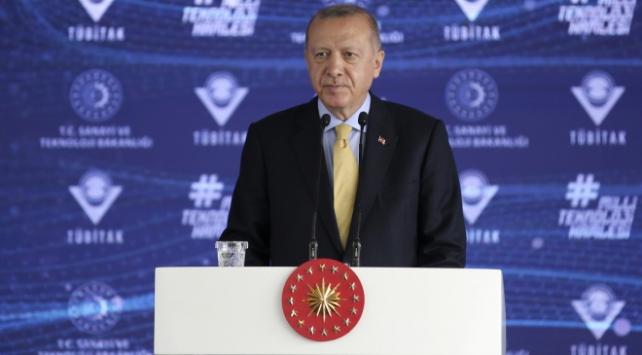 Erdoğan, TÜBİTAK Mükemmeliyet Merkezleri Açılış Töreni'ne katıldı