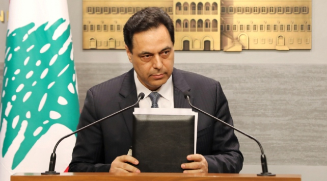 Lübnan Başbakanı Diyab'dan ilk açıklama