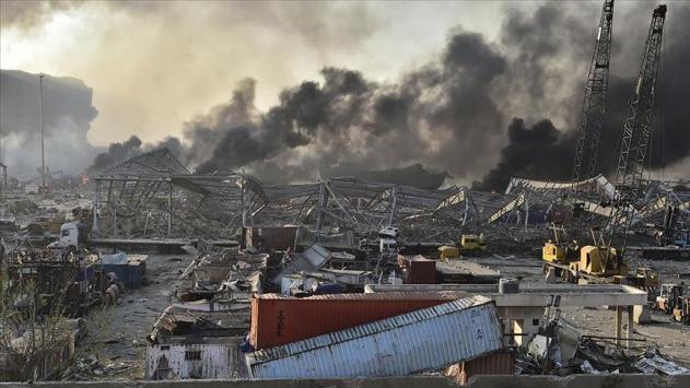 Beyrut'ta ölü sayısı 179'a yükseldi