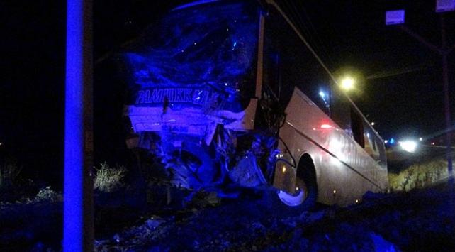 Sandıklı ilçesinde yolcu otobüsü şarampole düştü, 30 kişi yaralandı