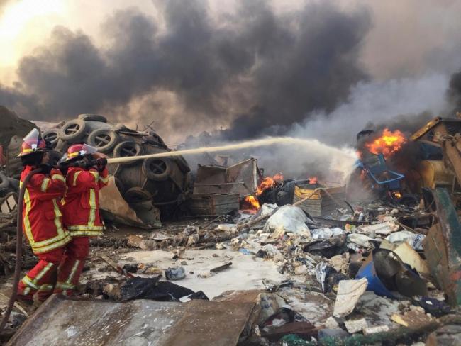 Lübnan büyük bir patlamayla sarsıldı