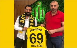 Bayburt Spor Yönetim Kurulu Başkanı Tamer Saka'dan Adem Köse'ye Ziyaret