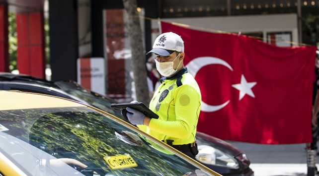 maske takmayan 18 kişiye 16 bin 200 lira ceza uygulandı