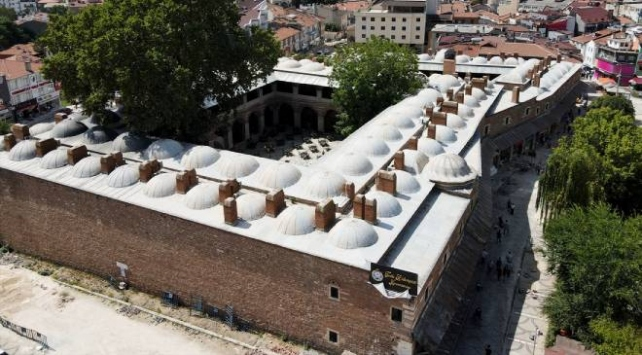 Mimar Sinan'ın kervansarayı yeniden hizmette
