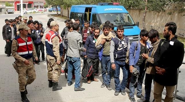 Bitlis'te 78 sığınmacı yakalandı