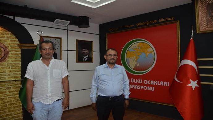 İktisatçı Uluslararası İş Adamı Fatih Ispirdogan `dan Cevdet Yıldırım `a ziyaret