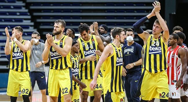 Fenerbahçe Beko, sahasında Sırbistan'ın Kızılyıldız mts takımını 77-63 yendi