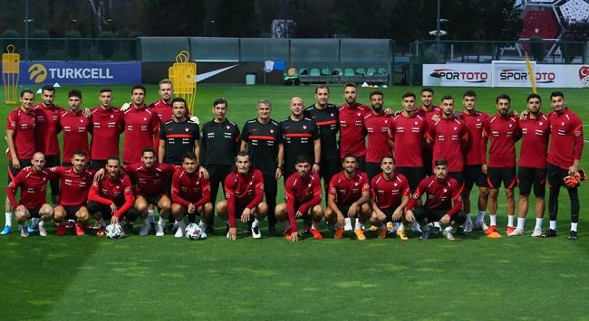 A Milli Futbol Takımı Almanya maçı hazırlıklarına başladı