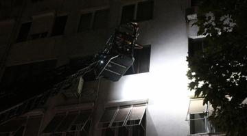 Beşiktaş'ta ev yangını: 1 yaralı