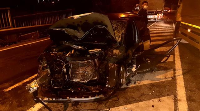 Kocaeli'nde zincirleme kaza: 1 ölü, 4 yaralı