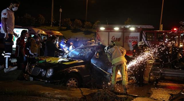 Eskişehir'de yolcu otobüsünün devrilmesi sonucu 3 kişi yaralandı