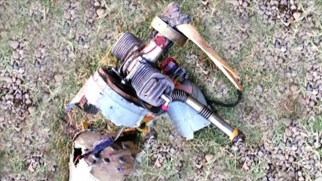 Ermenistan'a ait kamikaze drone Azerbaycan ordusu tarafından etkisiz hale getirildi