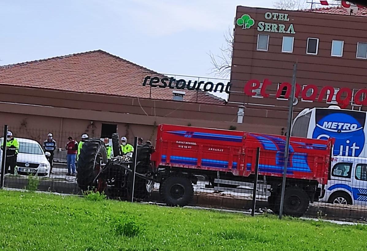 Aksaray'da kaza 1 ağır yaralı