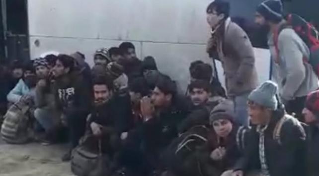 Bitlis'te 95 düzensiz göçmen yakalandı
