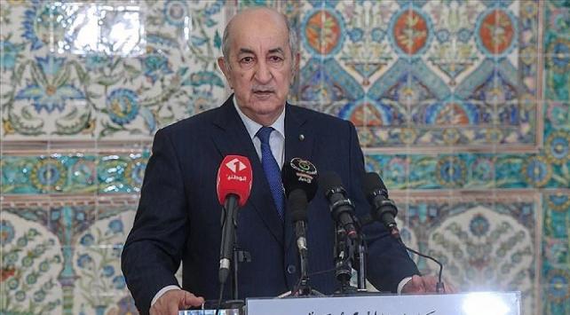 Cezayir Cumhurbaşkanı Tebbun'un sağlık durumu iyi