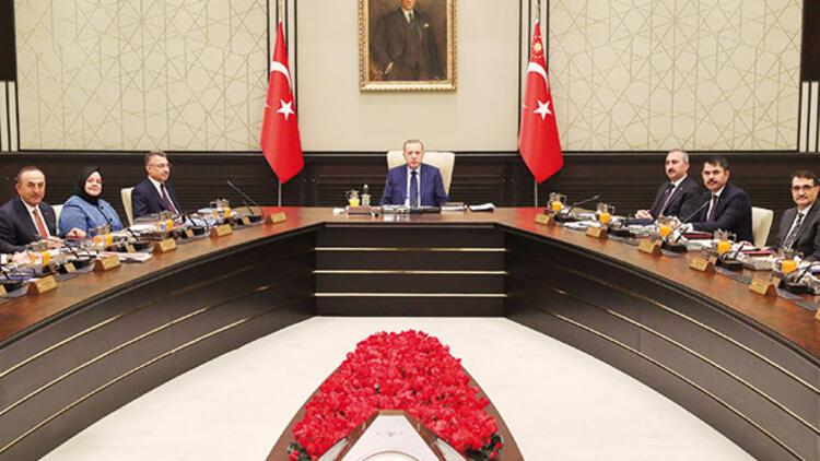 Kabine Toplantısı başladı!