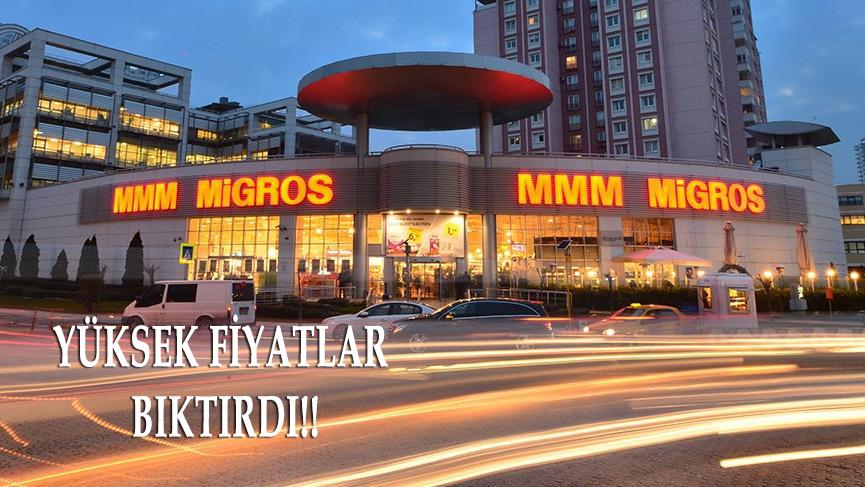 Migros'un şoke eden ekmek fiyatı!