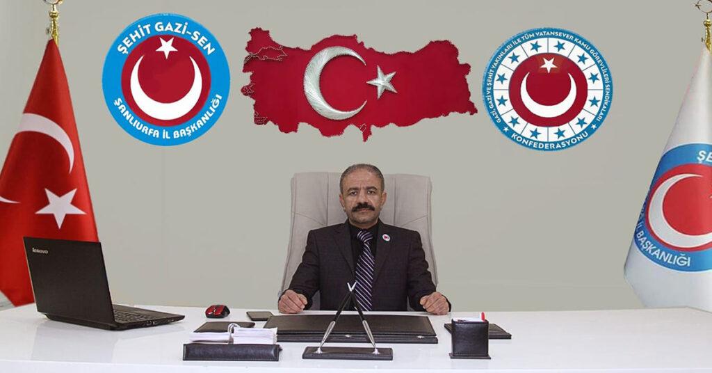 Şanlıurfa Şehit Yakınları ve Gaziler Derneği Başkanı Bekir Kılıcı açıkladı!