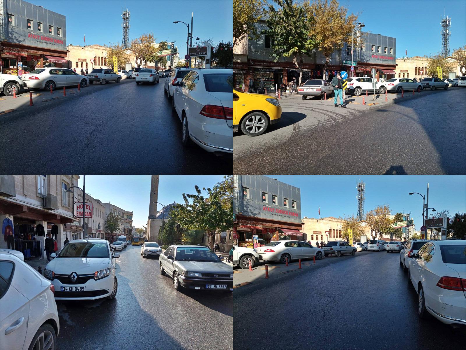 Urfa'nın en büyük problemi düzensiz araç parkları!