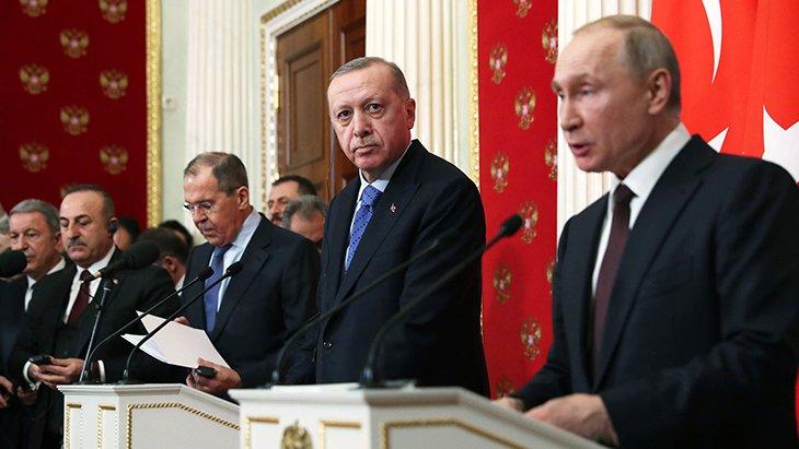 Erdoğan ve Putin'den ilk sözler! Kırım gerginliği unutuldu