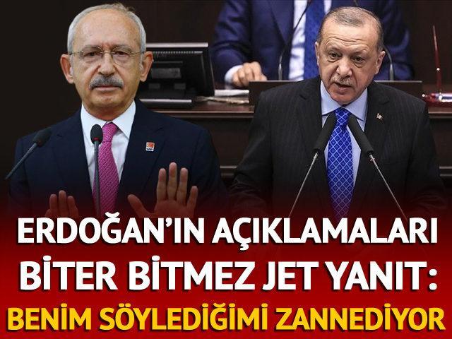 Erdoğan'ın 'ilk 4 madde' sözlerine yanıt